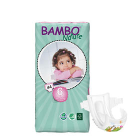 Bambo自然系列婴儿纸尿裤6号大包16-30kg