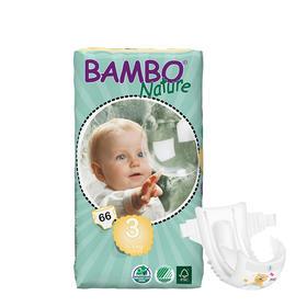 Bambo自然系列婴儿纸尿裤 3号大包5-9kg