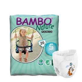 Bambo自然系列婴儿拉拉裤 5号(12-20kg)
