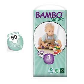 Bambo自然系列婴儿纸尿裤4号大包7-18kg
