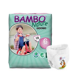 Bambo自然系列婴儿拉拉裤 6号(18+kg)