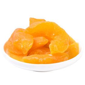 洛小夕 休闲零食 黄桃片 鲜果干蜜饯果脯68g*2袋