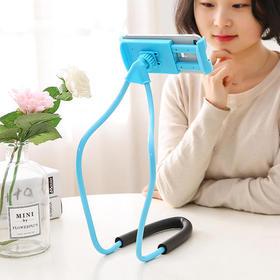 创意懒人床头支架宿舍挂脖子桌面手机架床上多功能通用型