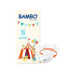 Bambo游乐园系列婴儿纸尿裤S号(4-9kg)
