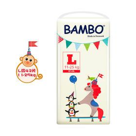 Bambo游乐园系列婴儿纸尿裤L号 (11-25kg)