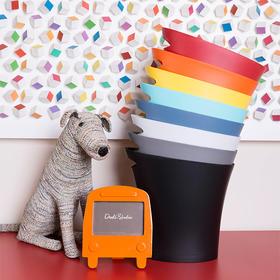 Umbra 办公室创意无盖家用 卫生间欧式简约客厅塑料字纸篓垃圾桶 注模聚丙烯材质桶