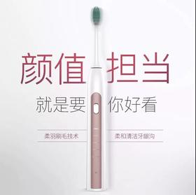 拜尔电动牙刷蓝牙版成人充电式声波超自动软毛牙刷防水美白情侣智能家用