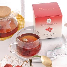 喜善花房 荔枝红茶 10包/盒