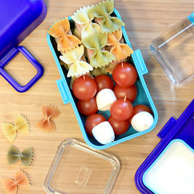 Monbento 法国机灵宝宝创意便当盒树莓 儿童饭盒日式带盖学生餐盒塑料微波炉双层