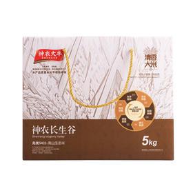 神农大丰 高山生态米5kg 高档礼盒装新米大米 高山生态米5KG装