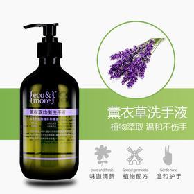 【天然成分】eco&more清洁护理洗手液按压家用装500ml