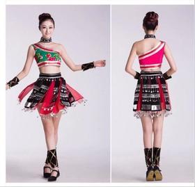 成人民族女装舞蹈演出服装