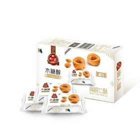 【满百包邮】木糖醇扁桃仁酥 100克 独立装  适合糖友的加餐小零食(饼干零食类)