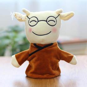 「羊爸爸手偶」超柔面料 开发心灵 睡前陪伴