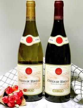 【闪购】吉佳乐酒庄隆河谷红白套装(2瓶/套,红2015,白2016)/Guigal Rhone Promotion Set