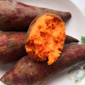 六鳌红薯 原产地直发 自然成熟 农家种植 香甜软糯 皮薄如纸 5斤(20--30 个)包邮