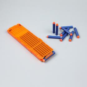 【发射器配件】软弹发射器通用弹夹+18软弹