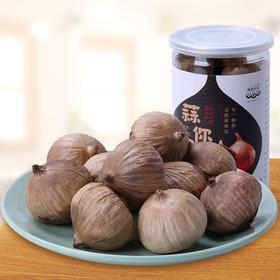 养生法宝  云南独头紫皮发酵黑大蒜2罐装,250g罐*2罐