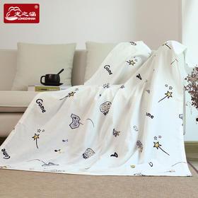 龙之涵 双层加密纱布 夏凉毯