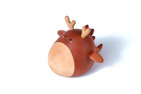 【偷吃了琴的龙】木质八玩偶八音盒创意礼品
