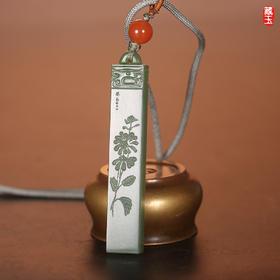 阴刻印章丨陈小林阴刻玉雕,取材上等碧玉、黑青玉,实用、美观,六种题材
