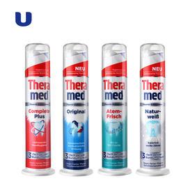 半岛优品 | 德国汉高站立式牙膏(Theramed)  清洁美白去渍