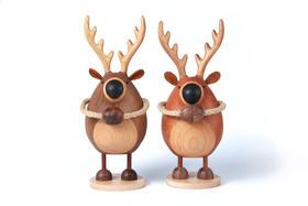【喜鹿】手工木玩偶 创意摆件 闺蜜新婚礼物 创木工房