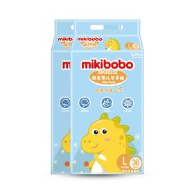米奇啵啵超柔婴儿学步裤-2包装(L码)