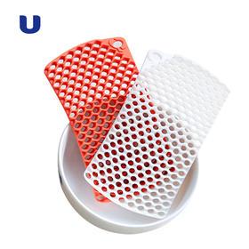 半岛优品 |  百洁布食用级硅胶 镂空洗碗刷