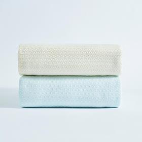 """冰凉丝蜂巢空气毯 """"石头""""冰凉纱 凉感亲肤柔软顺滑空调毯"""