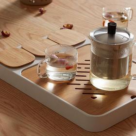耐高温玻璃茶壶 过滤不锈钢泡茶壶  红茶茶具  花茶壶套装  泡茶器