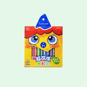 马可 1630细杆水彩笔12色纸盒装 1630- 12CB