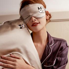 【睡着都能美容】TANGX 单人美容真丝眼罩枕/眼罩