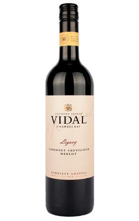 威杜庄园传奇赤霞珠梅洛混酿干红葡萄酒2013/Vidal Legacy Cabernet Sauvignon Merlot2013