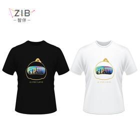 智伴 短袖T恤 2018夏季新款奥代尔面料
