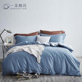 60支贡缎长绒棉四件套全棉纯棉1.5m床单被套床笠1.8m双人床上用品
