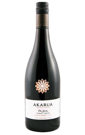 双藤花海洋女神黑皮诺干红葡萄酒2015/Akarua The Siren Pinot Noir 2015