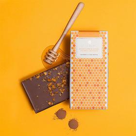 LOVE COCOA蜂蜜味37%手工牛奶巧克力80克