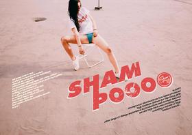 """设计师系列 SHAMPOOOO""""大香波""""TEE"""