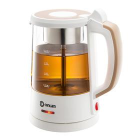 煮茶器DL-Y300玻璃茶壶1L大容量家用全自动电热冲泡蒸汽喷淋