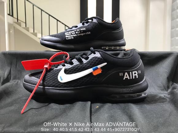 男鞋耐克公司真标创意联名!定制版本Off-White ✕ Nike Air Max ... 453d63a90eba
