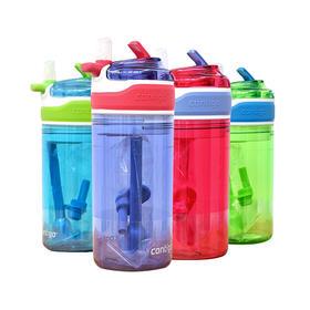 新款美版CONTIGO康迪克儿童吸管杯两只装 414ml 零食盒118ml