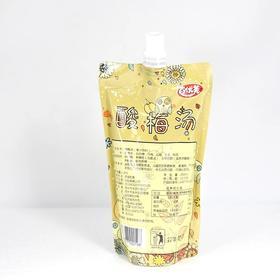 苏州特产采芝村百优美袋装酸梅汤汁250ml夏季消暑饮品一箱20袋包邮