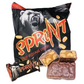 【半岛商城】俄罗斯进口 黑熊士力架花生巧克力糖果零食 包邮 赶走饥饿