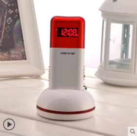DIGITIME时尚LED电子闹钟创意充电手电筒夜灯静音夜光贪睡多功能