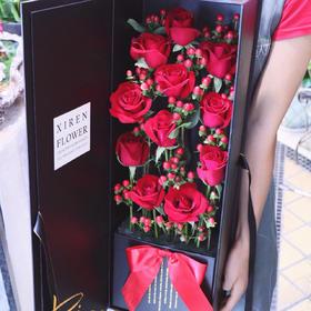 A级卡罗拉红玫瑰红豆高档枪炮礼盒
