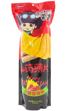 Aiyomi山药薄片