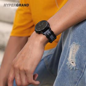 新加坡 HYPERGRAND 进口手表冷钢系列潮流街头风男腕表 NWM4HAWK  44mm