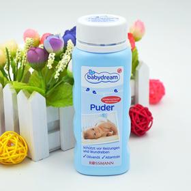 【三合一多效 温和不刺激】德国进口橄榄枝爽身粉 不含滑石粉  祛痱爽身 更安全