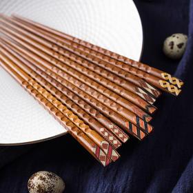 日式和风木质餐具 铁刀木/柯木/印尼铁木筷子 多款可选